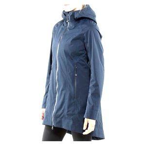 """Lululemon """"Right as Rain"""" jacket inkwell size 6"""